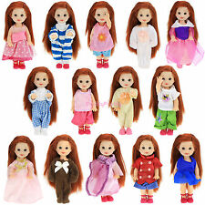 10x Random Outfit Dress Shorts Shirts Clothes For Barbie Kelly Doll Grace Gift K