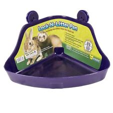 Small Pet Litter Box Corner Lock Critter Wire Pan Bolter Rabbit Ferret Supplies