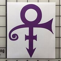 "Prince Logo 5"" Tall Vinyl Decal Sticker - BOGO"