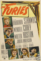 The furies Barbara Stanwyck  vintage movie poster