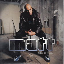 CD SINGLE 2T MATT / R&B 2 RUE / FRENCH RAP