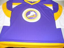 Vintage New York Golden Blades WHA hockey replica jersey 1973-74 blank away dark