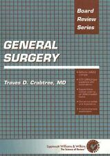 BRS General Surgery by Traves D. Crabtree (2000, Paperback)