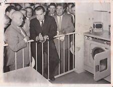 "1959 Krushchev Nixon ""Great Kitchen Debate"" News Photo"