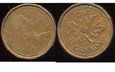 CANADA 1 cent  1985