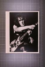 "Vivian Campbell Dio Photo Stamped Original B/W 10"" x 8""  Last In Line Tour 1984"