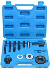 13pcs Pulley Puller Remover and Installer Tool Kit Power Steering Alternator A/C