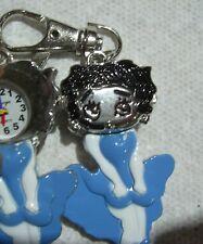 Clip On Pocket Watch Blue BETTY BOOP  Montre Bleu