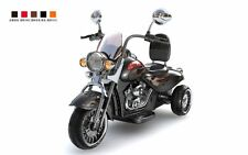 Moto électrique enfant 12V - Look Harley Davidson  Noir métallisé