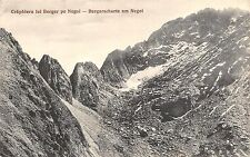 B71901 Muntii Fagaras Crapatura lui Berger Negoi Fogaras Fogarasch sibiu romania