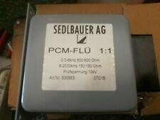 SEDLBAUER PCM-FLÜ Pulse transformers