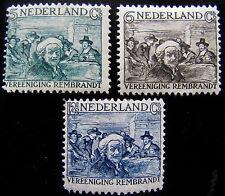 NED NVPH 229 - 231 Rembrandt-zegels 1930 prachtig ongebruikt CW 30,-