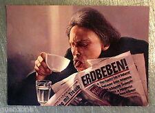 Carte postale Erdbeben 1977  Helnwein Gottfried  postcard