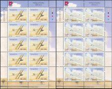 Namibia 1999 Gliders/Gliding/Planes/Aircraft/Transport 2v set x 10v sht (n16606)