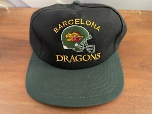WLAF Barcelona Dragons Vintage Hat.  World League. New With Tags