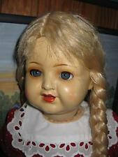antike Masse-Puppe Franz Schmidt 53 cm mit Pappmachee-Körper