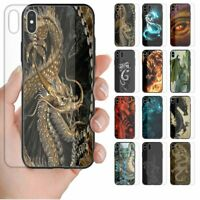 For OPPO Phone Series - Dragon Theme Print Tempered Glass Phone Back Case #2