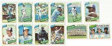VINTAGE 1980 TOPPS MAJOR LEAGUE BASEBALL CARDS – TORONTO BLUE JAYS – MLB