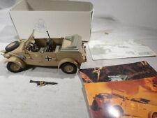 g Hendrix BOXED 1:24th German Army Kubelwagen Afrika Corps DAK