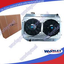For Holden Torana Radiator Shroud+Fan HQ HJ HX HZ HK Kingswood V8+Alloy Aluminum
