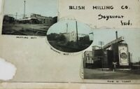Antique 1912 Blish Milling Co. Seymour Indiana Postcard