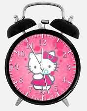 "Pink Hello Kitty Alarm Desk Clock 3.75"" Room Office Decor X20 Nice For Gift"
