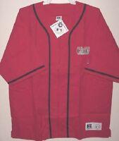 St Louis Cardinals Jersey Jacket Medium Russell Embroidered Logo MLB