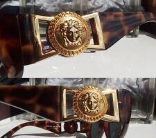 Migos Worn! GIANNI VERSACE Vintage Sunglass 424(869OD) Tortoise&Gold Medusa Head