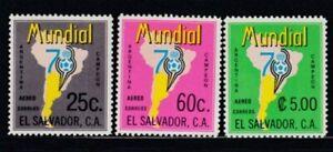 EL SALVADOR Argentina '78 World Cup Championships MNH set
