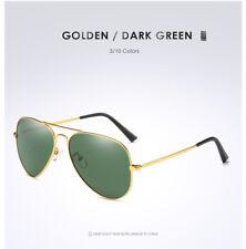 Polarized Sunglasses Mens Womens Mirrored Coating Lens Retro Sunglasses UV400 3