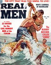 Real Men Yukons Girl-Hungry Men SHARKS White Cannibal of Maoriland ZORRO BUTCHER