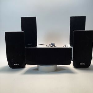 Set of 5 Sony Model No SS-TSB121 Untested No Sub