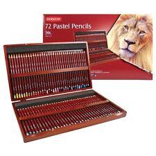 Derwent Pastel Pencils Wooden Box Set of 72