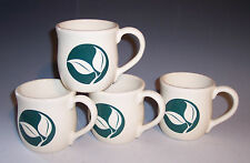 Contemporary 'Genesis' Pattern 8oz Mugs USA!~Set of 4!