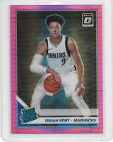2019-20 Panini Donruss Optic Isaiah Roby Rated Rookie RC No.191 Dallas Mavericks