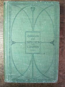 Antiquarian THE ORIGIN OF SPECIES..Charles Darwin,H/C,1900,703pp,New.Imp.GC