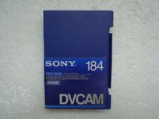 DVCAM SONY PDV-184N Didital Video Cassette - New