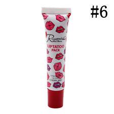Impermeable Lápiz labial mate pluma Delineador de labios, maquillaje duradero
