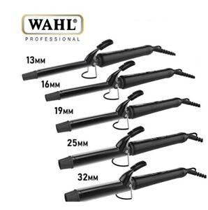WAHL CURLING TONGS 200°C IRON CERAMIC STYLER CURLER 13MM 16MM 19MM 25MM 32MM