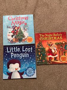 Childrens Christmas Books X 3