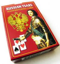 Russian Tsars Romanov Dynasty 54 Souvenir Playing Cards Deck Sealed New