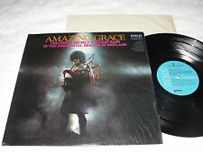 "Pipes/Drums/Military Band Brigade of Scotland ""Amazing Grace"" 1972 LP, Nice EX!"