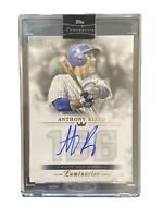 ANTHONY RIZZO 2018 TOPPS LUMINARIES HOME RUN KINGS AUTOGRAPH ON CARD AUTO #'d/15