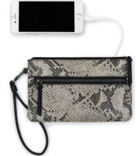 THE SAK Sanibel Charging Wristlet Bisque Exotic women Bag Casual Handbags