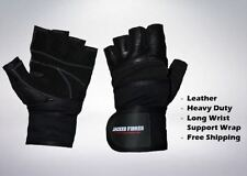 Fitness Wrist Wrap Gloves