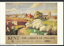 Advertising Postcard - Kent - The Garden of England, See Britain By Train MB2450