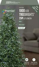 1000 White Premier Tree Brights Multi Action LED Christmas Tree Lights + Timer