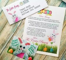 Personalized Letter & Glossy Autographed Photo Mailed From THE EASTER BUNNY!