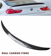 BMW 6 SERIES F12 F13 M6 PERFORMANCE REAR TRUNK BOOT SPOILER REAL CARBON FIBRE