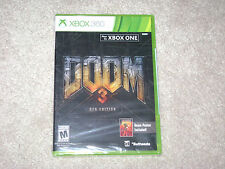 DOOM 3 BFG EDITION...XBOX 360...***SEALED***BRAND NEW***!!!!!!!
